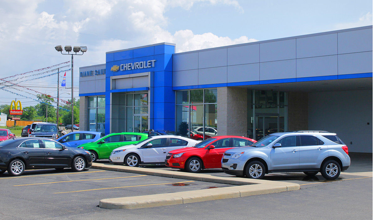 Phil Fitts Ford >> Diane Sauer Chevrolet - Baker Bednar Snyder & Associates Architects   Ohio   330.856.7222