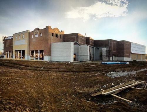 Construction continues at TownCenter at Firestone Farms