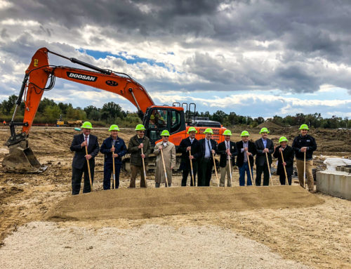 Ground-Breaking Ceremony for the New Shepherd of the Valley Facility